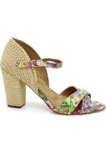 Sandália Zariff Shoes Boho Chic Bege