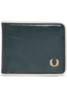 Carteira Masculina Classic Billfold Wallet - Verde
