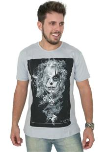 Camiseta Hunter Fumbre Cinza