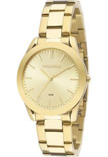 Relógio Technos Boutique Feminino Analógico 2035Lrs/4X - Dourado