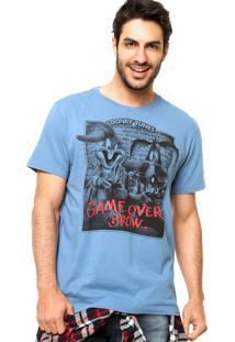 Camiseta Fashion Comics Looney Tunes Azul