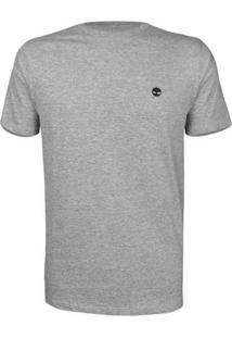 Camiseta Timberland Dunstan River Crew - Masculino-Mescla