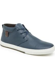 Sapatênis Sandalo Sayle Ted2 Cano Alto Masculino - Masculino-Marinho+Azul