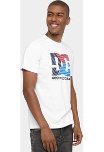 Camiseta Dc Shoes Trilines - Masculino