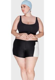 Shortkini Bold Beach Plus Size - Tricae