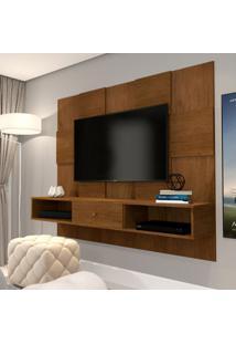 Painel Para Tv Até 50 Polegadas Luxo Caramelo