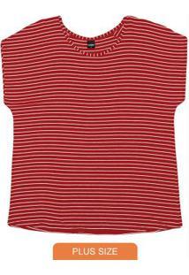 Blusa Trendy Feminina Premium Vermelho