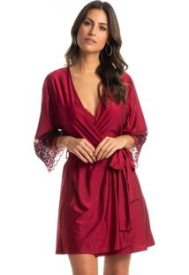 Robe Curto Manga Longa Seduction