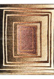 Tapete Marbella Botticelli Retangular (250X350Cm) Preto E Caramelo