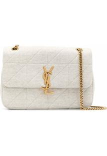 Saint Laurent Jamie Shoulder Bag - Neutro