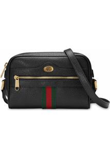Gucci Bolsa Tiracolo Ophidia Gg Mini - Preto