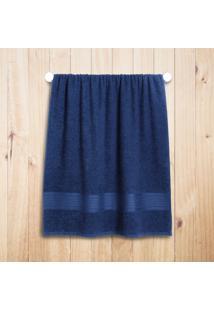 Toalha Banho Altenburg Tquio 100% Algodæo Deep - 70Cm X 1,40M Azul
