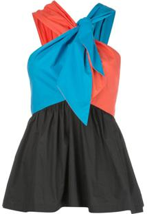 Isa Arfen Blusa Color Block - Estampado