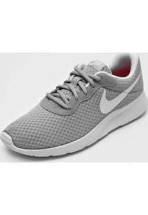 Tênis Nike Sportswear Wmns Tanjun Cinza/Branco
