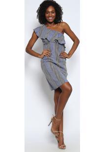 bbe08bd69 Vestido Azul Marinho Branco feminino | Gostei e agora?