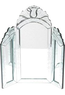 Espelho Decorativo- Incolor- 39X35Cmbtc Decor
