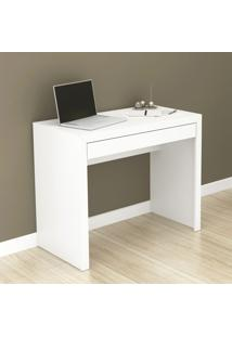 Mesa Escrivaninha 1 Gaveta Branco Me4107 - Tecno Mobili