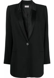 By Malene Birger Blazer De Smoking Leamon - Preto