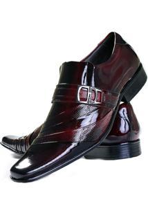 Sapato Social Gofer 632 Vermelho