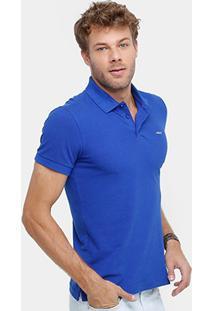 Camisa Polo Colcci Tinturada Básica Masculina - Masculino