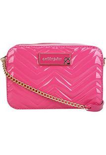 Bolsa Petite Jolie Mini Bag Nic Zig Zag Feminina - Feminino-Pink