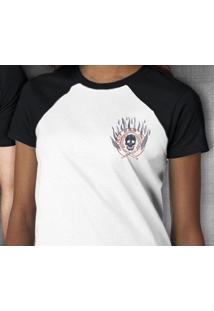 Camiseta Pior Aluno Raglan - Feminina