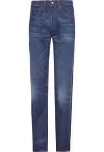 Calça Masculina 501 Straight - Azul