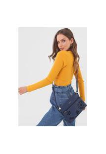 Bolsa Desigual Across Body Bag Inês Azul-Marinho