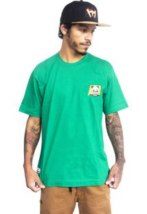 Camiseta Make Pandab Verde