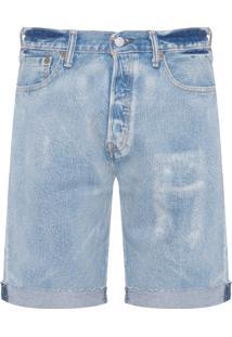 Bermuda Jeans Masculina 501 Original - Azul