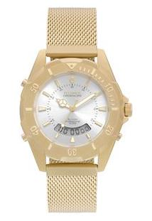 Relógio Technos Feminino Skydiver Dourado T205Jf/4K T205Jf/4K