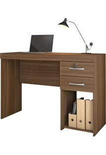 Mesa Office Iara - Jcm Movelaria Cor:Rovere