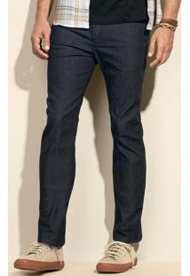 Calça Jeans Slim Masculina Hering Com Lavação Escura