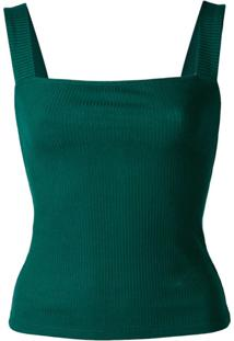Reformation Blusa Canyon - Verde