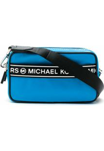 Michael Michael Kors Bolsa Tiracolo Kenly - Azul