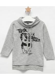 """Camiseta """"Rule Are Made """"- Cinza & Pretalilica Ripilica E Tigor T. Tigre"""