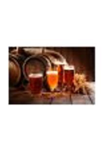 Painel Adesivo De Parede - Cervejas - 239Pn-G