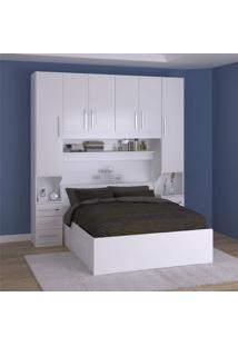 Dormitório De Casal Completo 1220 Branco