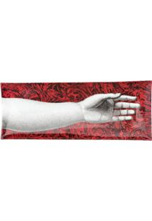 Fornasetti Bandeja 'Don Giovanni' - Vermelho