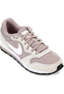 Tênis Nike Md Runner 2 Feminino - Feminino-Branco+Cinza