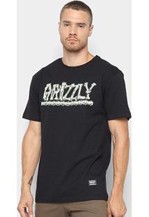 Camiseta Grizzly Bones Masculina - Masculino