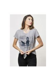 Camiseta Jay Jay Basica How To End Cinza Mescla Dtg