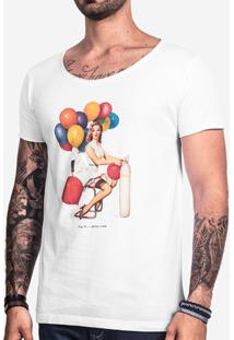 Camiseta Hermoso Compadre Party Time Masculina - Masculino