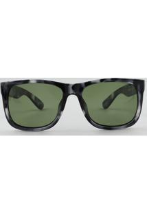 ecc00a1801860 Óculos De Sol Preto Verde feminino   Shoelover
