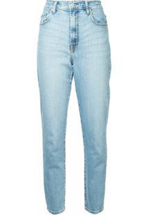 Nobody Denim Calça Jeans Slim Cintura Alta - Azul