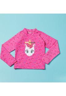 Blusa Unicórnio- Pink & Azulpuket