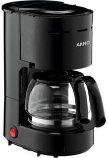 Cafeteira Elétrica Filtro Preta Arno 110V