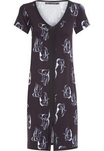 Vestido Curto Elefante - Preto