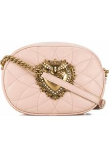 Dolce & Gabbana Bolsa Transversal Devotion - Rosa