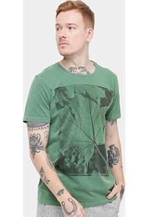 Camiseta Redley Stone Folha - Masculino